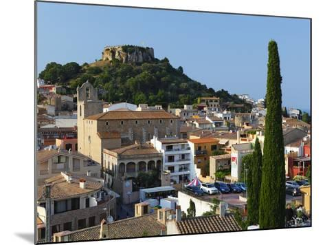 Ruined Castle Above Old Town, Begur, Costa Brava, Catalonia, Spain, Europe-Stuart Black-Mounted Photographic Print