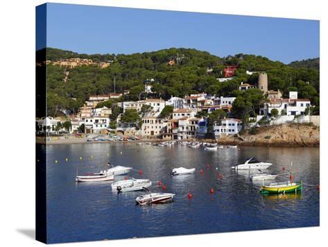 Sa Tuna, Near Begur, Costa Brava, Catalonia, Spain, Mediterranean, Europe-Stuart Black-Stretched Canvas Print