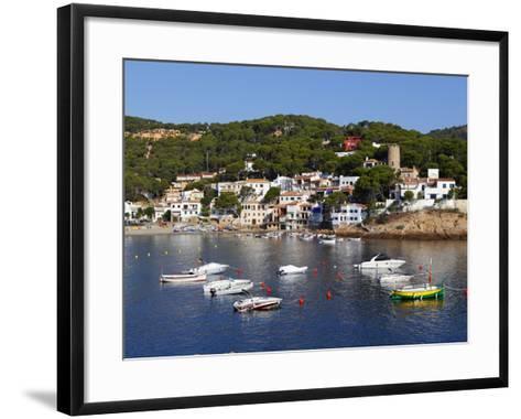 Sa Tuna, Near Begur, Costa Brava, Catalonia, Spain, Mediterranean, Europe-Stuart Black-Framed Art Print