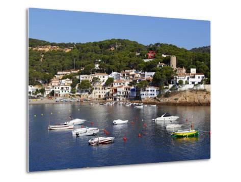 Sa Tuna, Near Begur, Costa Brava, Catalonia, Spain, Mediterranean, Europe-Stuart Black-Metal Print