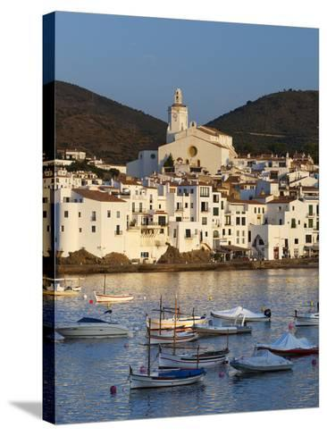 Harbour and Town, Cadaques, Costa Brava, Catalonia, Spain, Mediterranean, Europe-Stuart Black-Stretched Canvas Print