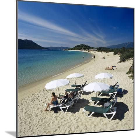 Beach View, Cala Rossa, Southeast Corsica, Corsica, France, Mediterranean, Europe-Stuart Black-Mounted Photographic Print
