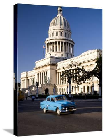 Capitolio, Central Havana, Cuba, West Indies, Central America-Ben Pipe-Stretched Canvas Print