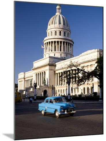 Capitolio, Central Havana, Cuba, West Indies, Central America-Ben Pipe-Mounted Photographic Print