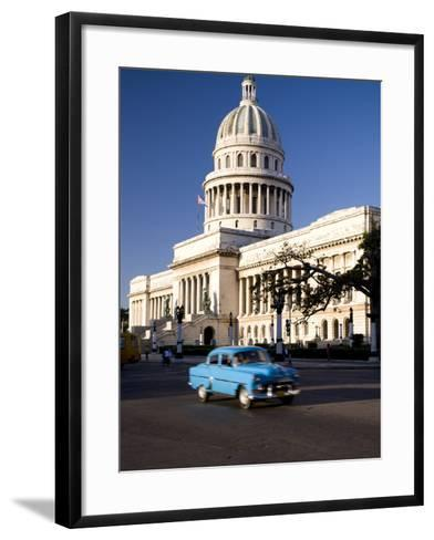 Capitolio, Central Havana, Cuba, West Indies, Central America-Ben Pipe-Framed Art Print