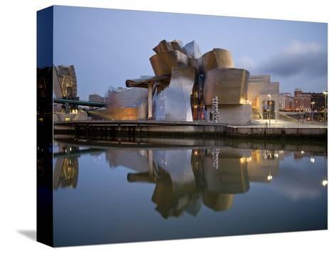 Guggenheim Museum, Bilbao, Euskal Herria, Euskadi, Spain, Europe-Ben Pipe-Stretched Canvas Print