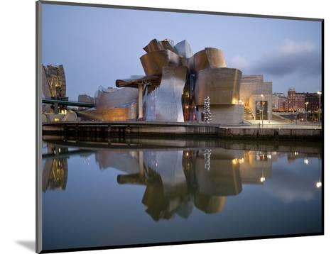 Guggenheim Museum, Bilbao, Euskal Herria, Euskadi, Spain, Europe-Ben Pipe-Mounted Photographic Print
