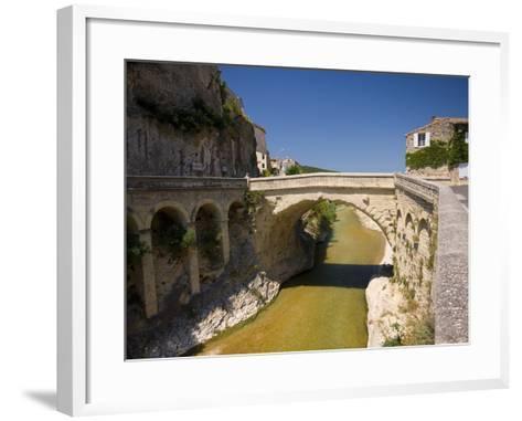 Vaison La Romaine, Provence, France, Europe-Ben Pipe-Framed Art Print