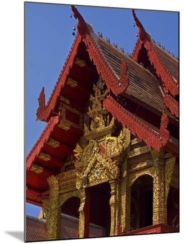 Facade of Wat Phra Singh Temple, Chiang Mai, Chiang Mai Province, Thailand, Southeast Asia, Asia-Ben Pipe-Mounted Photographic Print