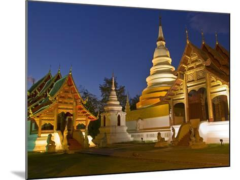 Wat Phra Singh Temple, Chiang Mai, Chiang Mai Province, Thailand, Southeast Asia, Asia-Ben Pipe-Mounted Photographic Print