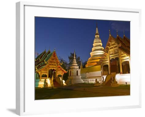 Wat Phra Singh Temple, Chiang Mai, Chiang Mai Province, Thailand, Southeast Asia, Asia-Ben Pipe-Framed Art Print