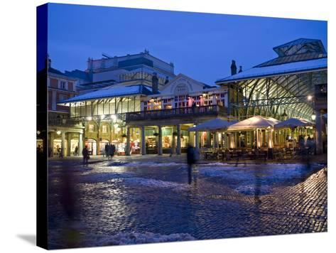 Covent Garden, London, England, United Kingdom, Europe-Ben Pipe-Stretched Canvas Print