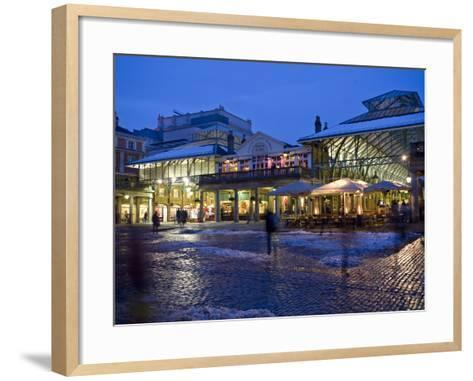 Covent Garden, London, England, United Kingdom, Europe-Ben Pipe-Framed Art Print