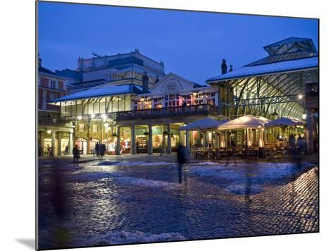 Covent Garden, London, England, United Kingdom, Europe-Ben Pipe-Mounted Photographic Print