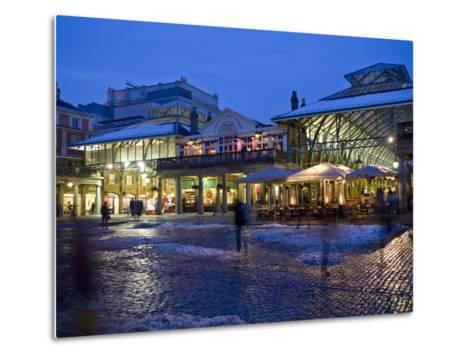 Covent Garden, London, England, United Kingdom, Europe-Ben Pipe-Metal Print