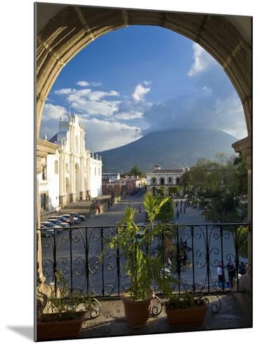 Parque Central, Antigua, Guatemala, Central America-Ben Pipe-Mounted Photographic Print