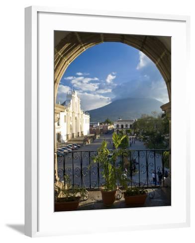 Parque Central, Antigua, Guatemala, Central America-Ben Pipe-Framed Art Print