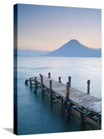 Santa Cruz La Laguna, Lake Atitlan, Western Highlands, Guatemala, Central America-Ben Pipe-Stretched Canvas Print
