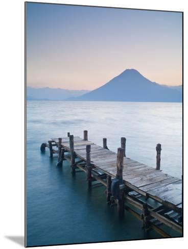 Santa Cruz La Laguna, Lake Atitlan, Western Highlands, Guatemala, Central America-Ben Pipe-Mounted Photographic Print