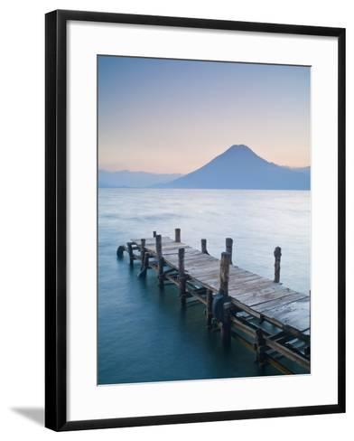 Santa Cruz La Laguna, Lake Atitlan, Western Highlands, Guatemala, Central America-Ben Pipe-Framed Art Print