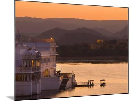 Lake Palace Hotel, Udaipur, Rajasthan, India, Asia-Ben Pipe-Mounted Photographic Print