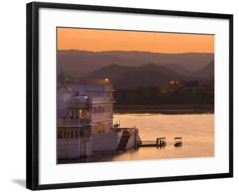 Lake Palace Hotel, Udaipur, Rajasthan, India, Asia-Ben Pipe-Framed Art Print