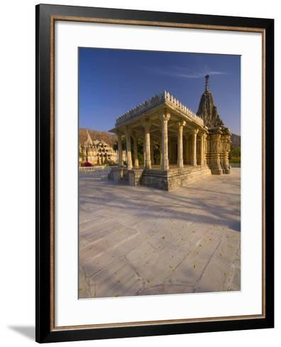 Sun Temple, Ranakpur, Rajasthan, India, Asia-Ben Pipe-Framed Art Print