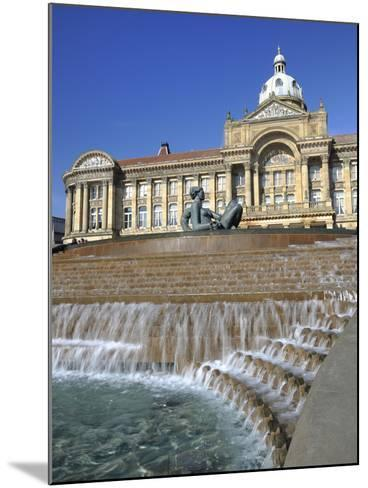 Fountain known as the Floozy in the Jacuzzi and the Council House, Victoria Square, Birmingham, Wes-Chris Hepburn-Mounted Photographic Print