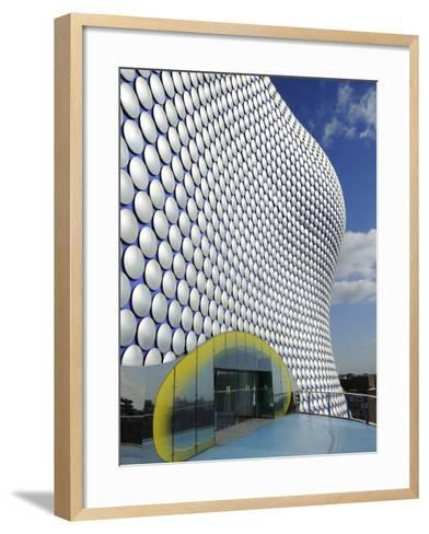 Selfridges Store Exterior, Bullring Shopping Centre, Birmingham, West Midlands, England, United Kin-Chris Hepburn-Framed Art Print