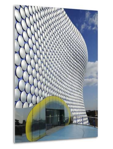 Selfridges Store Exterior, Bullring Shopping Centre, Birmingham, West Midlands, England, United Kin-Chris Hepburn-Metal Print