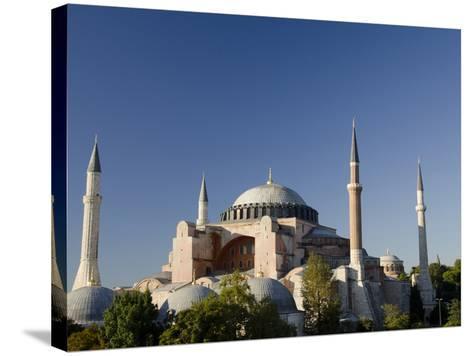 St. Sophia, Hagia Sophia Mosque (Aka Aya Sophia Haghia Sophia), Istanbul, Turkey-Cindy Miller Hopkins-Stretched Canvas Print