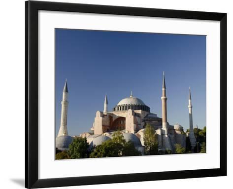 St. Sophia, Hagia Sophia Mosque (Aka Aya Sophia Haghia Sophia), Istanbul, Turkey-Cindy Miller Hopkins-Framed Art Print
