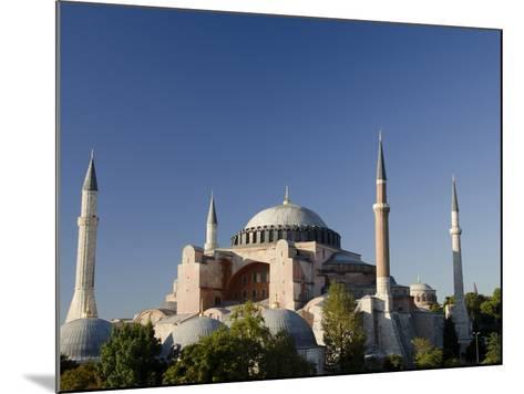 St. Sophia, Hagia Sophia Mosque (Aka Aya Sophia Haghia Sophia), Istanbul, Turkey-Cindy Miller Hopkins-Mounted Photographic Print