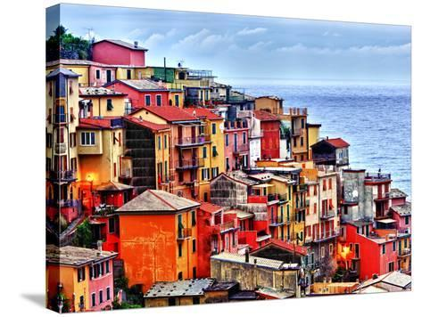 Scenes from Cinque Terra, Italy-Richard Duval-Stretched Canvas Print