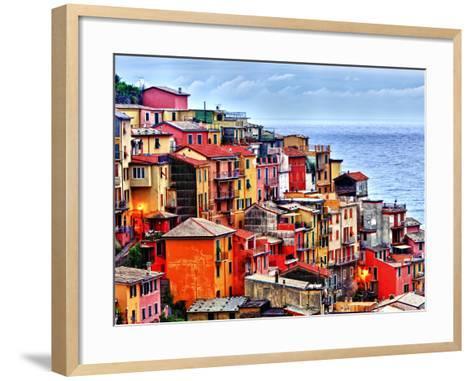 Scenes from Cinque Terra, Italy-Richard Duval-Framed Art Print