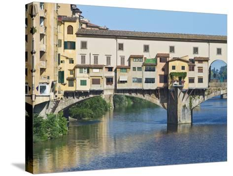 Ponte Vecchio at Sunrise, Florence, Tuscany, Italy-Rob Tilley-Stretched Canvas Print