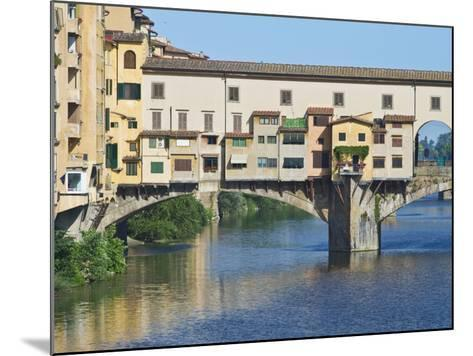 Ponte Vecchio at Sunrise, Florence, Tuscany, Italy-Rob Tilley-Mounted Photographic Print