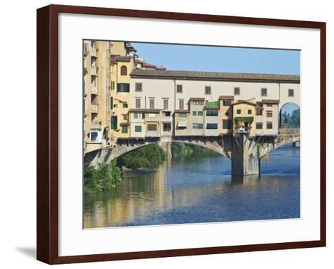 Ponte Vecchio at Sunrise, Florence, Tuscany, Italy-Rob Tilley-Framed Art Print