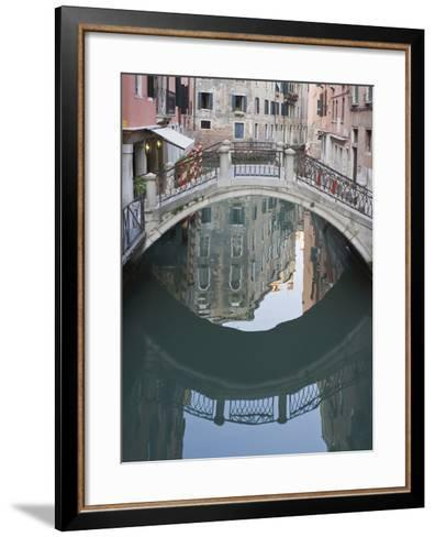 Canal and Reflection, Venice, Italy-Rob Tilley-Framed Art Print