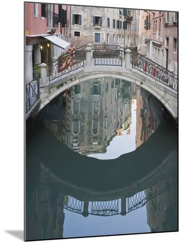 Canal and Reflection, Venice, Italy-Rob Tilley-Mounted Photographic Print