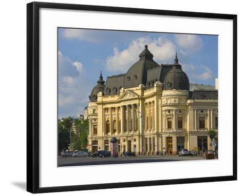 National Library, Bucharest, Romania-Keren Su-Framed Art Print