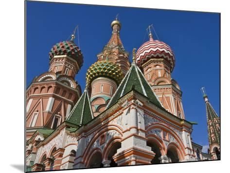 St. Basil's Cathedral in Red Square, Moscow, Russia-Keren Su-Mounted Photographic Print