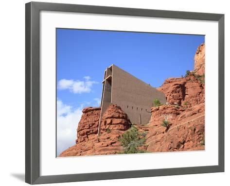 Chapel of the Holy Cross by Marguerite Brunswig Staude, Red Rock Country, Sedona, Arizona, Usa-Savanah Stewart-Framed Art Print