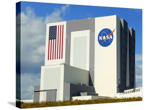 Vab Building at Sunrise, Cape Canaveral, Ksc, Titusville, Florida, Usa-Maresa Pryor-Stretched Canvas Print
