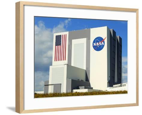 Vab Building at Sunrise, Cape Canaveral, Ksc, Titusville, Florida, Usa-Maresa Pryor-Framed Art Print