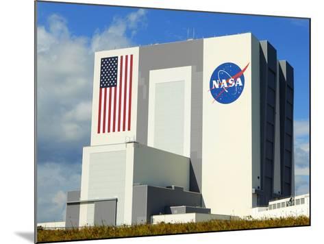Vab Building at Sunrise, Cape Canaveral, Ksc, Titusville, Florida, Usa-Maresa Pryor-Mounted Photographic Print