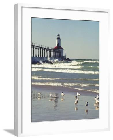 Indiana Dunes State Park, Indiana, Usa-Anna Miller-Framed Art Print
