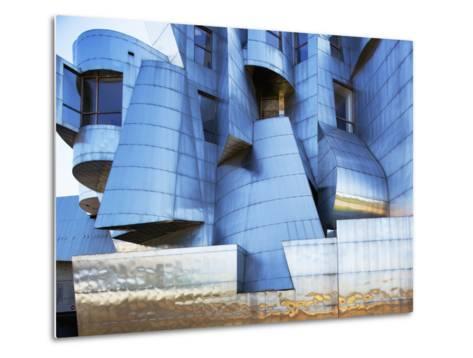 Weisman Art Museum Building at University of Minnesota, Saint Paul, Minnesota, Usa-Paul Souders-Metal Print