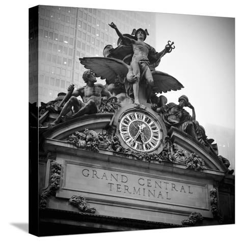 USA, New York City, Manhattan, Midtown, Grand Central Station-Alan Copson-Stretched Canvas Print