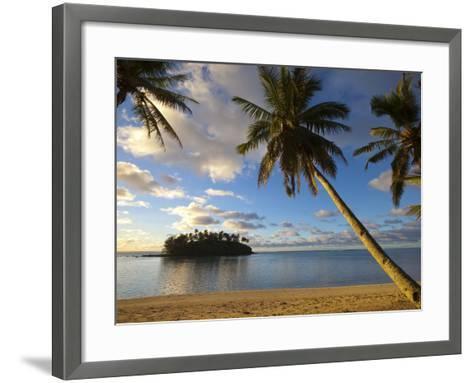 Muri Beach, Rarotonga, Cook Islands, South Pacific-Doug Pearson-Framed Art Print